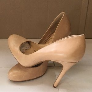 Jessica Simpson Rachel Pumps Natural Leather 9M